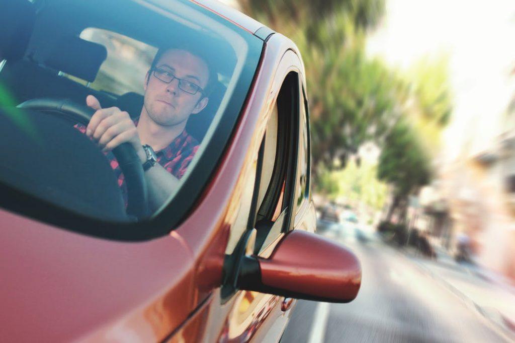 Man taking driver medicals assessment